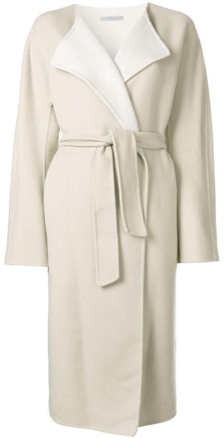 Dusan oversized belted coat