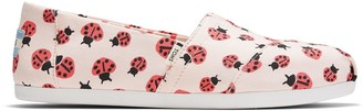Toms Pink Love Lady Bugs Women's Classics
