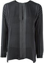 Vince thin stripe blouse - women - Silk - 4