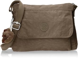 Kipling Aisling Soft Earthy Beige Tonal Crossbody Bag