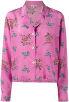 Natasha Zinko floral print pyjama top - women - Silk - 34