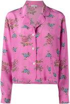 Natasha Zinko floral print pyjama top - women - Silk - 36