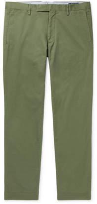 Polo Ralph Lauren Hudson Slim-Fit Stretch-Cotton Twill Chinos