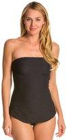 Gottex Architecture Bandeau One Piece Swimsuit 8112297