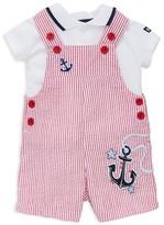 Little Me Boys' Nautical Polo & Shortall Set - Baby