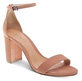 Schutz Women's Anna Lee Block Heel Sandals