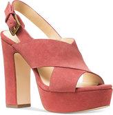 MICHAEL Michael Kors Mariana Slingback Platform Sandals