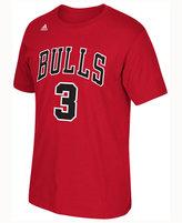 adidas Men's Dwyane Wade Chicago Bulls Player T-Shirt