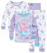 Peppa Pig 4-pc. Pajama Set Girls