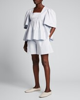 Thumbnail for your product : ADEAM Solid Paperbag Shorts