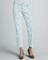 NYDJ Alisha Printed Ankle Jeans