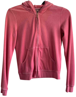 Juicy Couture Pink Cotton Jackets