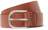Paul Smith 4cm Tan Leather Belt - Tan