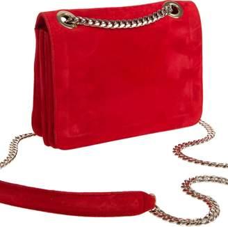 Freya Rose Kate Petite Red Suede Bag
