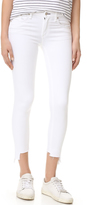 Rag & Bone The Capri Jeans with High Low Hem