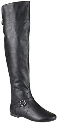 Journee Collection Loft Boot (Black) Women's Shoes