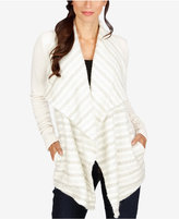 Lucky Brand Draped Open-Front Cardigan
