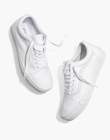 Madewell Vans Unisex Old Skool Lace-Up Sneakers in Canvas and Suede