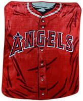 Northwest Company Los Angeles Angels of Anaheim Plush Jersey Throw Blanket