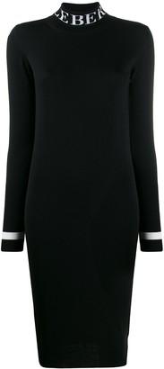 Iceberg Logo Sweater Dress