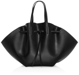 Nanushka Lynne Leather Top Handle Bag