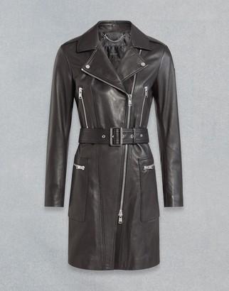 Belstaff Marvingt Leather Coat