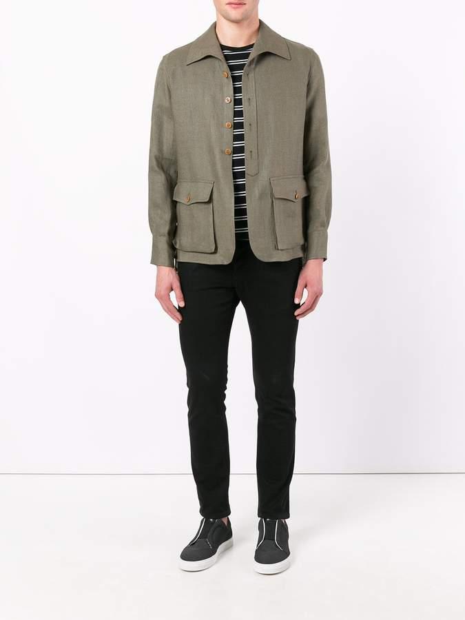 Lardini shirt jacket