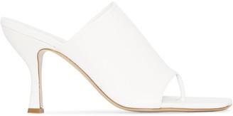 Gia Couture x Pernille Teisbaek Perni 02 80 leather mules