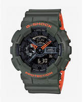 Express G-shock Layered Green Watch