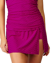 Leilani Plum Leeward Islands Bikini Skirt