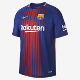 Nike 2017/18 FC Barcelona Stadium Home Men's Soccer Jersey
