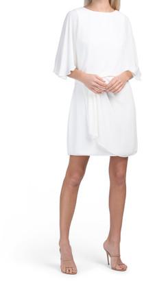 Draped Skirt Dress