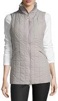 The North Face Lauritz Long HeatseekerTM Vest, Metallic Silver