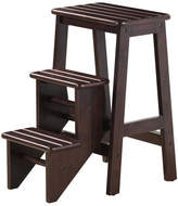 Boraam 3-Step Wood Step Stool