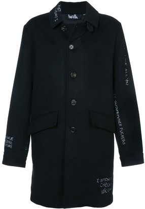 Haculla Skribble trench coat