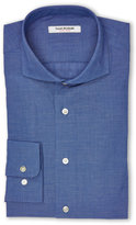 Isaac Mizrahi Slim Fit Blue Dress Shirt