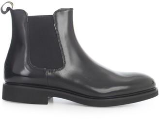 Doucal's Doucals Leather Chealsea Boots