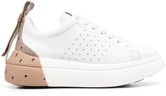 RED Valentino RED(V) Bowalk point d'esprit sneakers