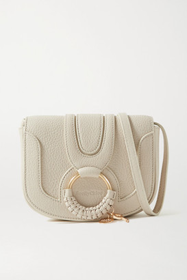 See by Chloe Hana Mini Textured-leather Shoulder Bag - Cream