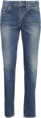 Saint Laurent Mid Rise Slim Fit Jeans