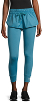 adidas by Stella McCartney Elasticized Short-Tight Leggings