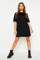 boohoo Frill Sleeve Smock Dress
