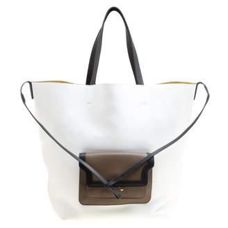 Marni White Suede Handbags