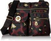 Baggallini ICB872G-SC Sydney Crossbody Bag