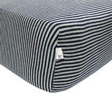 Burt's Bees Stripe Organic Cotton BEESNUG Fitted Crib Sheet