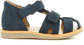 Pom D'Api Boy Poppy Velcro Nubuck Sandals