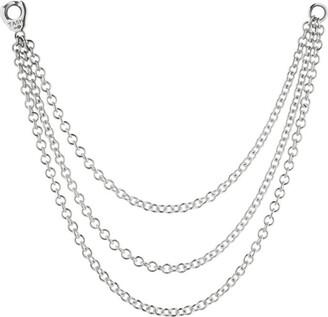 Maria Tash Long Triple Chain Connecting Charm
