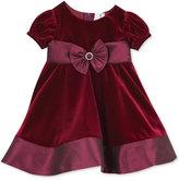 Rare Editions Baby Girls' Velvet Party Dress