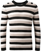 Laneus striped jumper - men - Cotton - 46