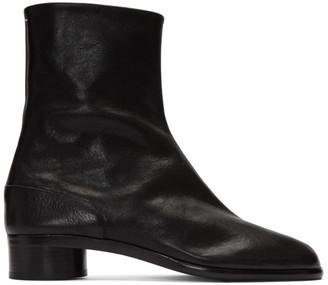 Maison Margiela Black Supple Tabi Boots